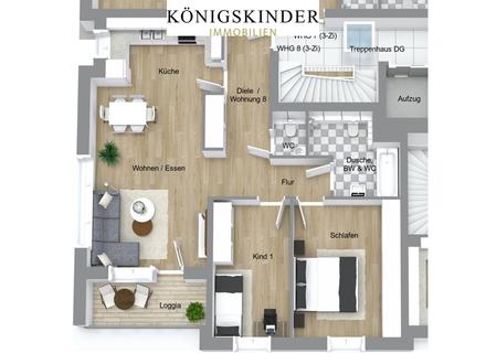 NEUBAU: Exklusive 3-Zi-Wohnung mit 81 m² im Rems-Murr-Kreis!