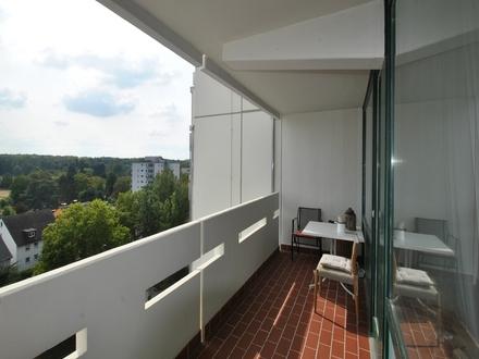 Blick über Frankfurt! 3 Zimmer Wohnung mit Balkon!