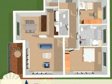 *ERSTBEZUG* Komfortable 3-Zi. Neubauwohnung mit sonnigem Balkon - Provisionsfrei!