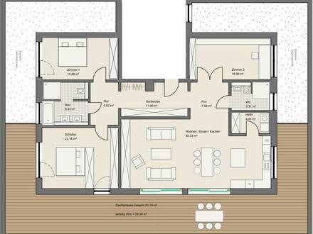 NEUBAU: Exklusive Penthouse-Wohnung in Goldbach