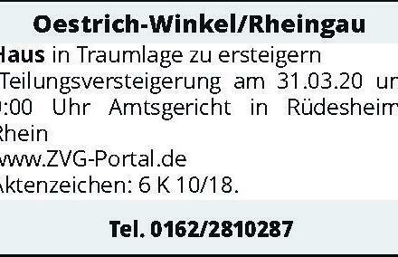 Oestrich-Winkel/Rheingau Haus
