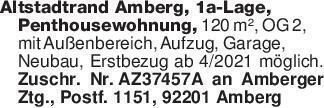 Altstadtrand Amberg, 1a-Lage,...