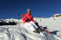 Zum Arbeiten ins Skigebiet