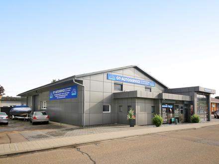 Firmenübernahme: Sehr gut gehende KFZ-Werkstatt mit vollständiger Ausstattung und 2-Zimmer-Wohnung