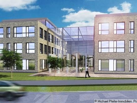 Erstklassige Büroflächen im Neubau Erstbezug, teilbar ab rd. 400 m² - max. rd. 3.000 m².