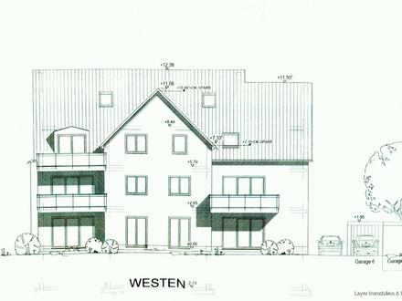 LAYER IMMOBILIEN: 3 Zimmerwohnung *Erstbezug* mit Lift, Westbalkon, Garage und Stellplatz zu kaufen
