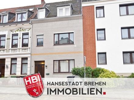 Gröpelingen / Kapitalanlage / Vermietetes Zweifamilienhaus in ruhiger Seitenstraße