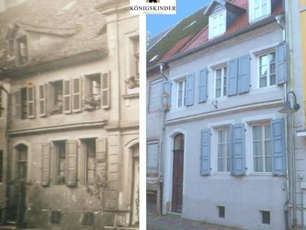 Historisches Reihenmittelhaus im Stadtkern von Blieskastel