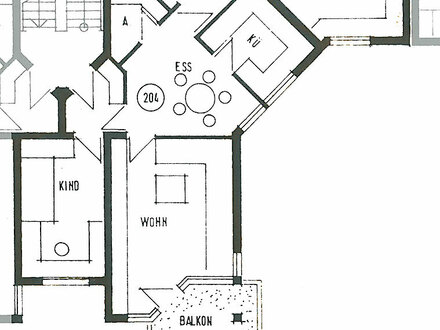 Villlingen-Schwenningen - Schöne, sonnige 3-Zimmer-Wohnung, Balkon, nur mit Wohnberechtigungsschein