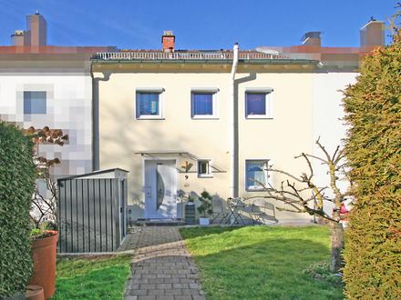 Familienfreundliches Reihenmittelhaus mit großzügigem, sonnigem Garten in Landsberg am Lech