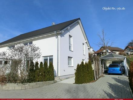 *** Neuwertiges Einfamilien-/Doppelhaus in ruhiger Wohnlage ... ! ***