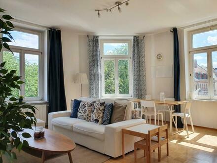Möblierte 2-Zimmer-Wohnung am Gellertplatz
