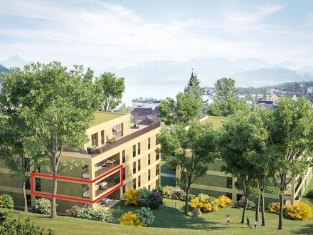 3-Zimmer mit Terrasse, 2 min zum Traunsee!