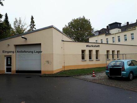 Geschäftsfläche ca. 322 m² / Lagerfläche - Werkstatt ca. 220 m² zu vermieten im Zentrum von Limbach-Oberfrohna