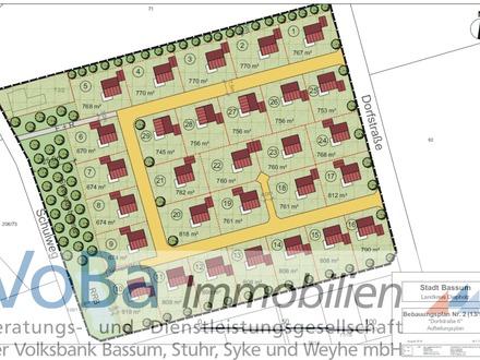 29 attraktive Grundstücke warten in Bramstedt auf Sie