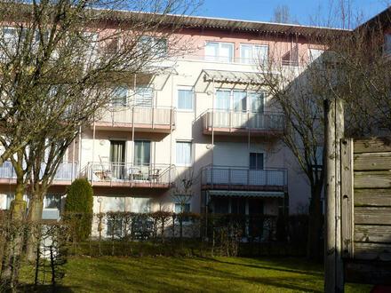 Waldkraiburg-Zentrum, 3 Zimmer ETW im DG 2 Balkonen -derzeit vermietet-