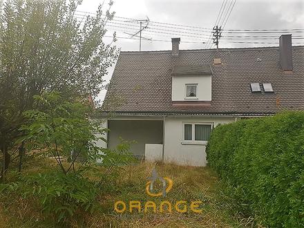 ***Augsburg - Hammerschmiede 1020 QM Grundstück mit Altbestand***