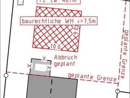 Kurzfristig bebaubar - Baulücke in Sonniger und gepflegter Umgebung !!