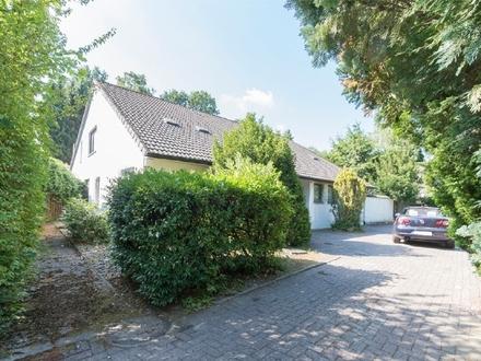 Solides Einfamilienhaus auf Sonnengrundstück in sehr guter Lage Oberneulands