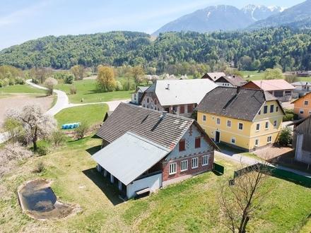 St. Margareten i. R.: Malerisches Landhaus und Gästehaus mit Schwimmbiotop auf großem Anwesen