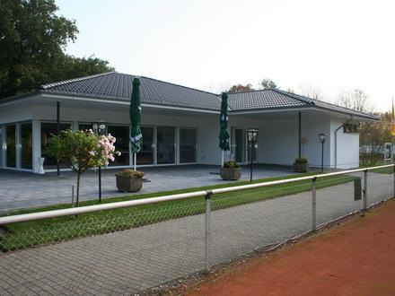 Bewirtung Tennisverein mit großer Aussenterrasse