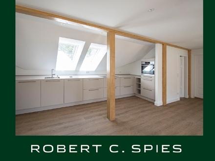 Repräsentativ & idyllisch Wohnen: Individuelle 2,5-Zimmer-Wohnung mit Blick ins Grüne
