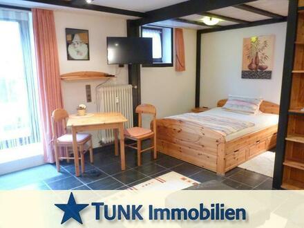 Für Wochenendheimfahrer - Möbliertes 1 Zimmer Appartement mit kleiner Terrasse in Kahl!