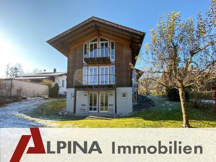 Architekten-Einfamilienhaus mit Einliegerwohnung im zauberhaften Brannenburg