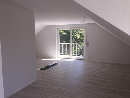 Modern renovierte großz. 2-Zi.-Dachgeschoss-Wohnung im 2-Fam.-Hs. mit Balkon - Rietberg