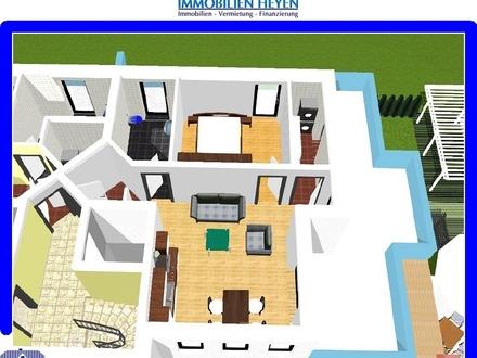 ***Schöne 2 Zimmer-Penthouse-Wohnung (KfW-55) in Aschendorf/Ems***