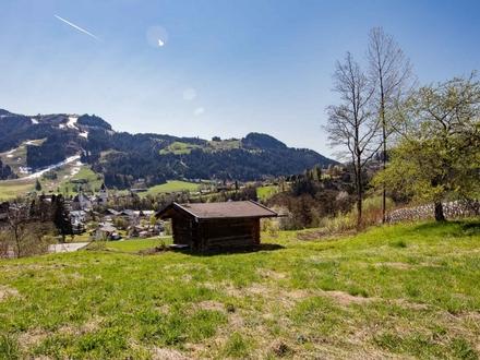 einmaliges Grundstück über Kitzbühel