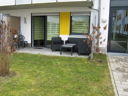 Moderne 2.-Zi.-Erdgeschosswohnung mit Terrasse ! Für Kapitalanleger oder Eigennutzer !
