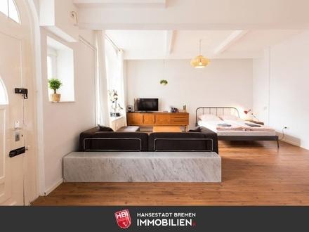 Ostertor / Kapitalanlage: Großzügiges Apartment in denkmalgeschütztem Altbau