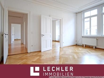 Renovierte 5-Zimmer-Altbauwohnung im Lehenviertel