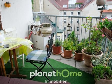 Traumhafte 3 Zimmer Wohnung mit großem Balkon am Modenapark