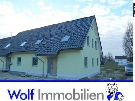 ~~Neue Doppelhaushälfte kurz vor der Fertigstellung ! Erstbezug !