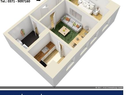 TOP - 2 Zimmer DG WE, Bad mit Wanne, Pkw-Stellpl.!