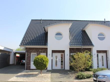 Platz für neue Wohnideen ! Zentrale Doppelhaushälfte mit Terrasse !