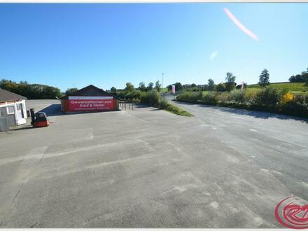 Flexible Lager- und Außenflächen direkt an der A94++Meindl-Gelände Dorfen++