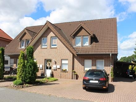 Eigentumswohnung in Haren - Emmeln! Wohnen im Obergeschoss mit viel Platz u. Balkon in ruhiger Lage!