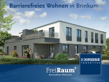 2,5 Zimmer-NEUBAU: Barrierefrei wohnen nach DIN mitten in Brinkum