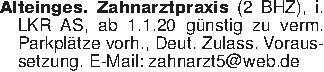 Alteinges. Zahnarztpraxis (2 B...