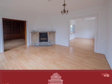 Frisch renovierte 3 Zimmer Wohnung, mit hochwertiger Einbauküche, Kamin und großem Balkon