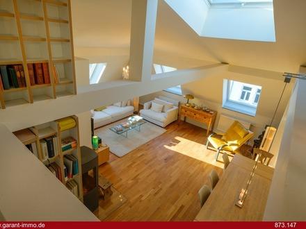 Dachgeschoss-Terrassenwohnung - Über den Dächern von Neuhausen! Fit für den vierten Stock?