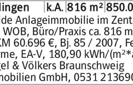 Haus in Wolfsburg (38440) 816m²