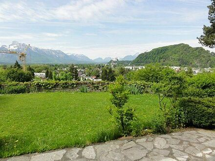 Einzigartige Villa in Parsch, Salzburg, mit Panoramablick!
