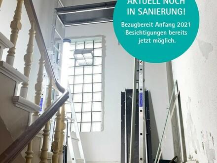 Schon bald! 3-ZBK im Vollsanierten Altbau - Erstbezug, 2. OG. links, Deb.-Nr.: 70716