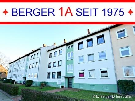 ANLAGE in BREMEN-VEGESACK: GEPFL. 3-ZI.-WHG mit BALKON und GARTENANTEIL, EBK mit Essplatz, W-Bad