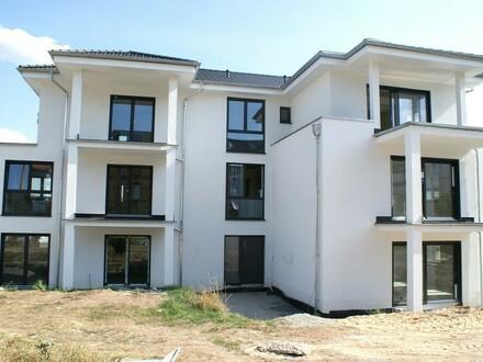 Eleganter Neubau ... Schwellenfreie 3-Zimmer-Neubauwohnung mit Terrasse und Garten