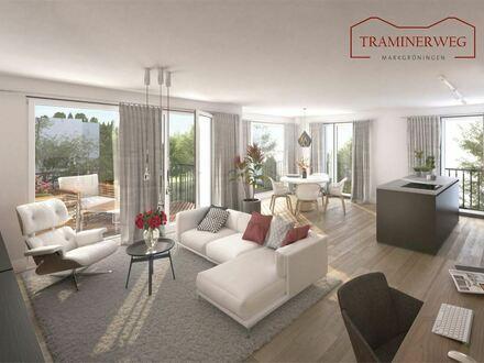 MODERN & HELL: Zuhause mit 3 Zimmern, Balkon & Gäste-WC im TRAMINERWEG / auf Erbpacht